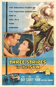Three Stripes in the Sun Movie Poster